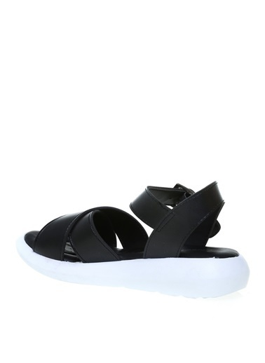 Cotton Bar Cotton Bar Sandalet Siyah